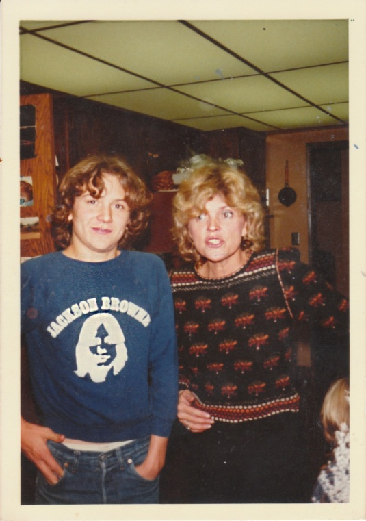 Me and Mama Annie, back in the day