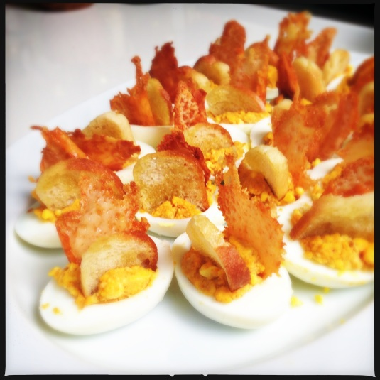 Catalan deviled eggs
