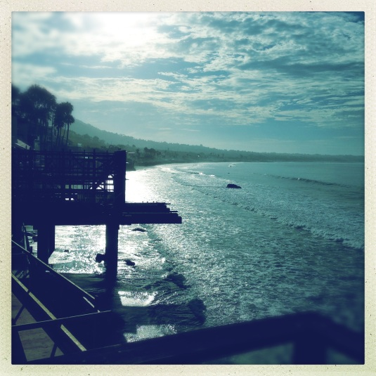 Morning at the Steve McQueen beach house