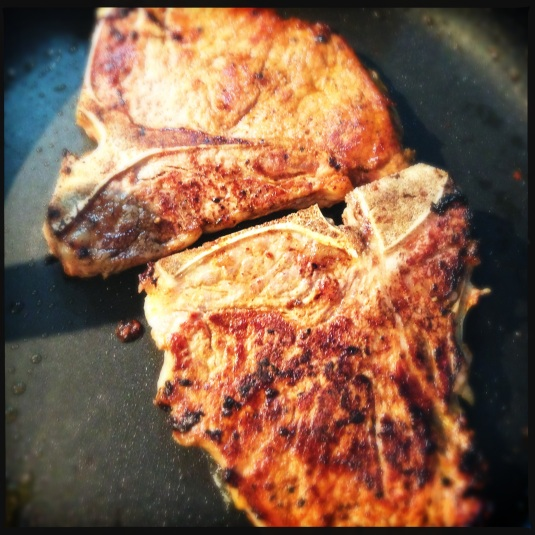 Cowboy t-bones (only you and I know the secret)