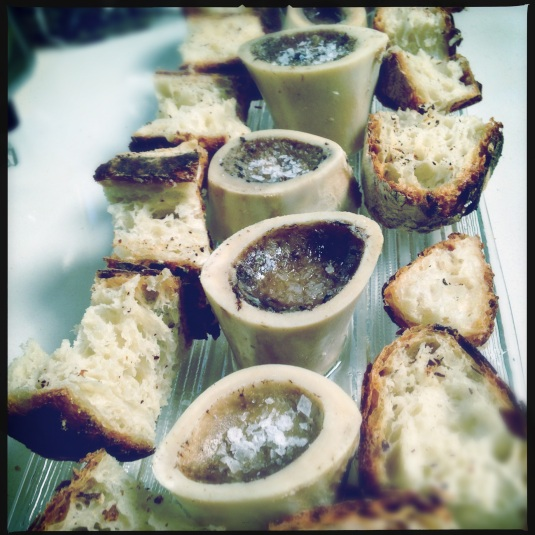Marrow with house bread