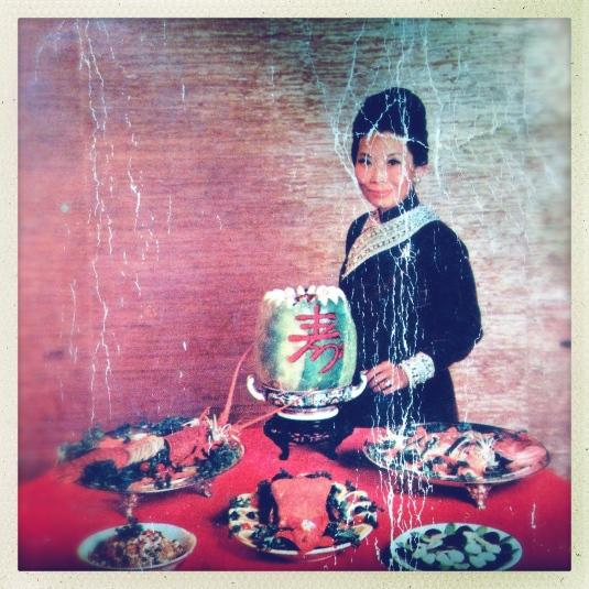 Madame Wu dishing it up!