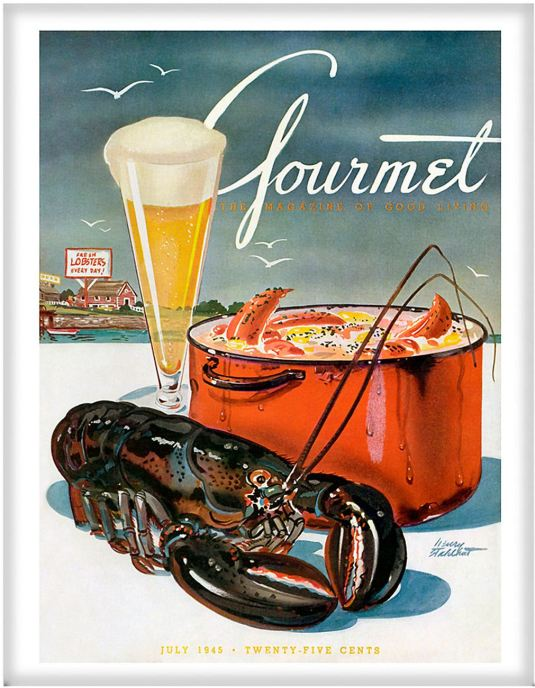 Gourmet July 1945