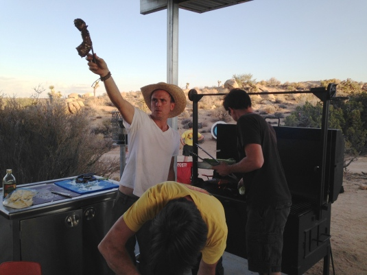 Cowboy Colgin raises the steak in triumph