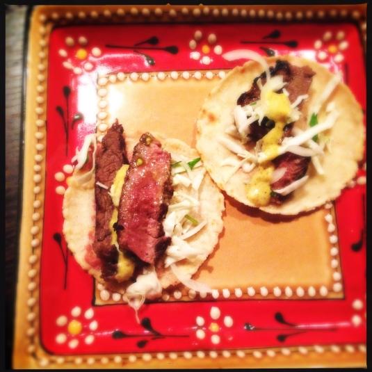 Wagyu tacos