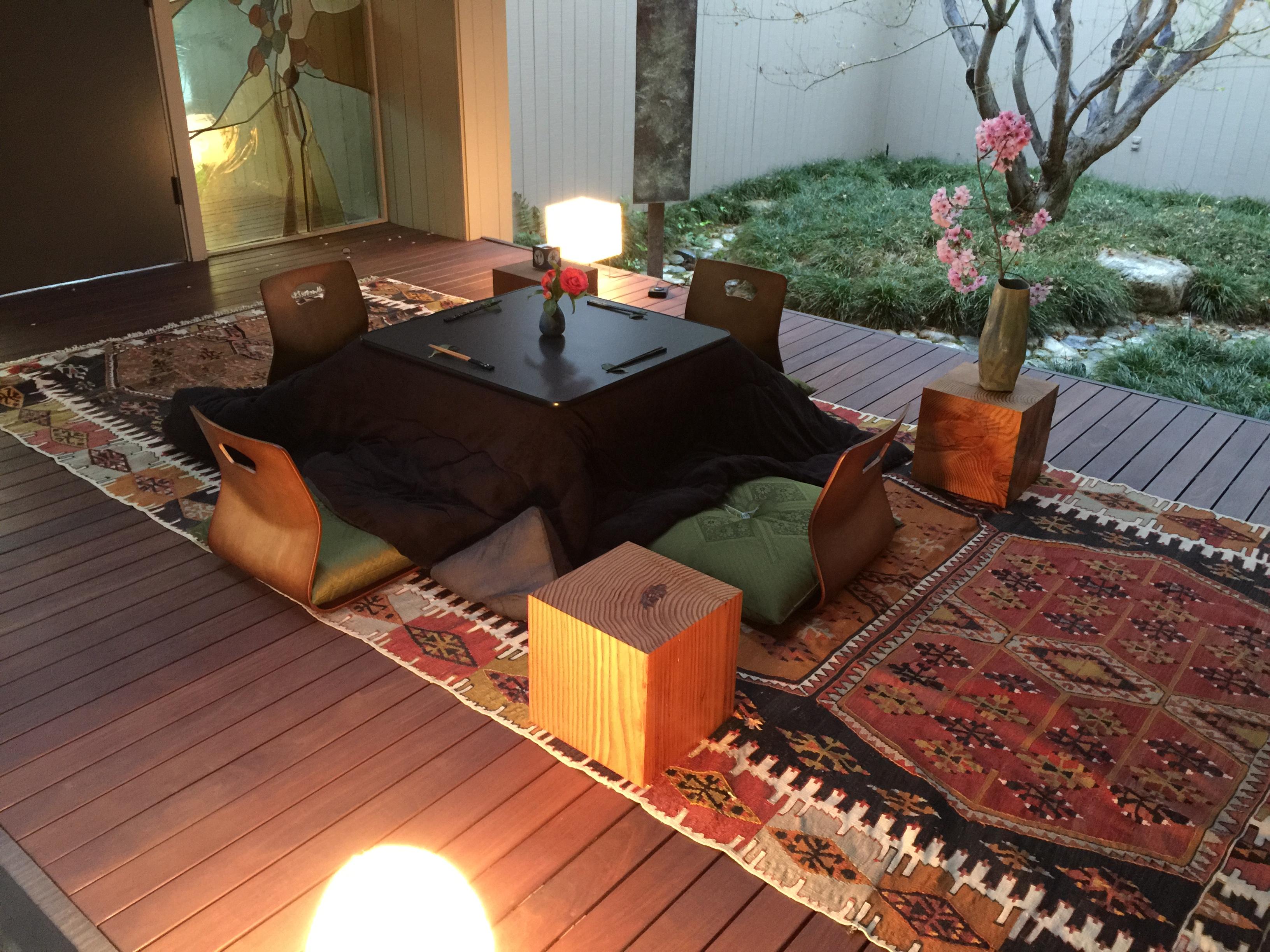 The kotatsu on the bridge