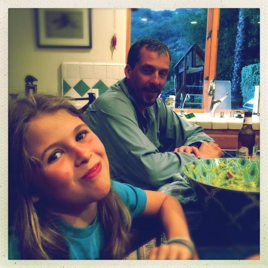 Willa and single dad pal, Jon