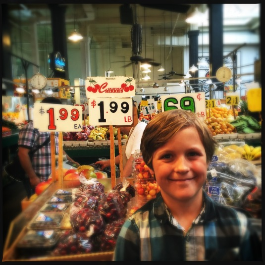 Flynn and the Mexican produce