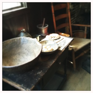 Dining at Paul Revere's house