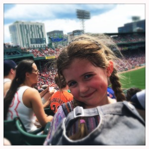 The Birthday Girl at Fenway