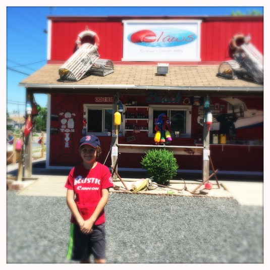 Flynn at Claws Lobster Shack