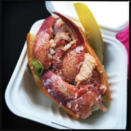 Charlotte's lobster roll