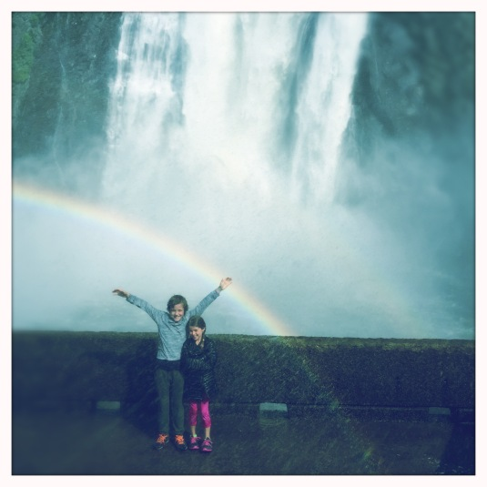 Flynn + Willa, Montmorency Falls, Quebec
