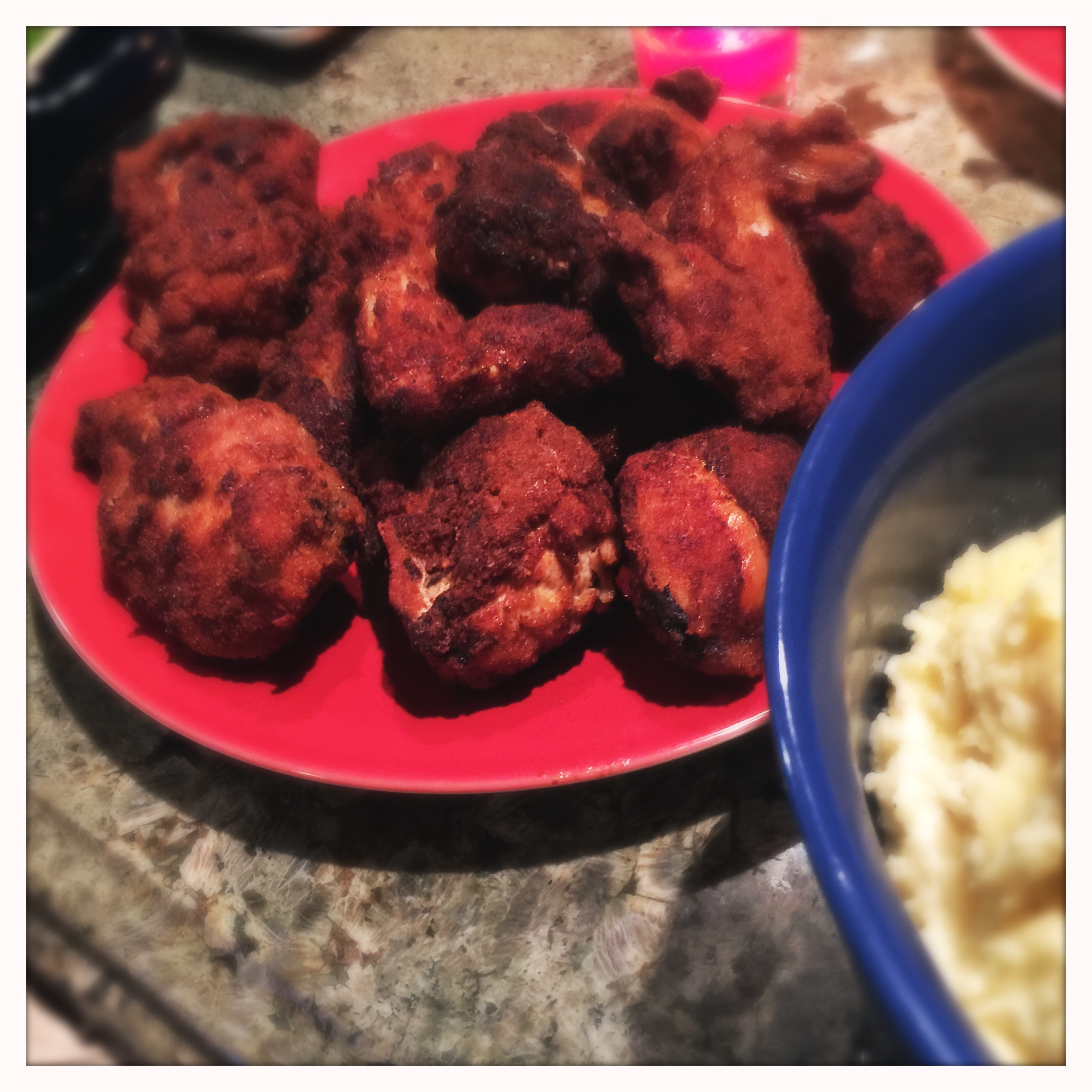 Andras' Hungarian fried chicken