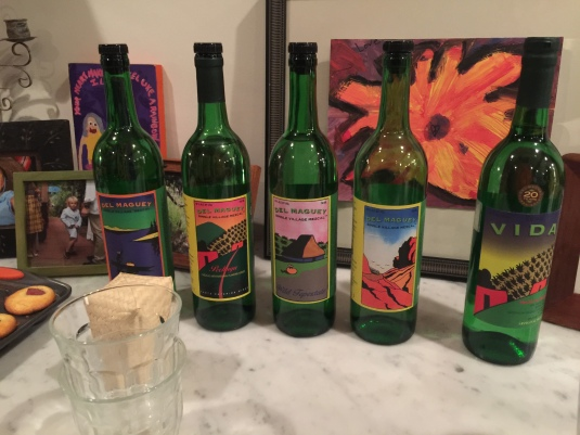 The mezcals of Del Maguey
