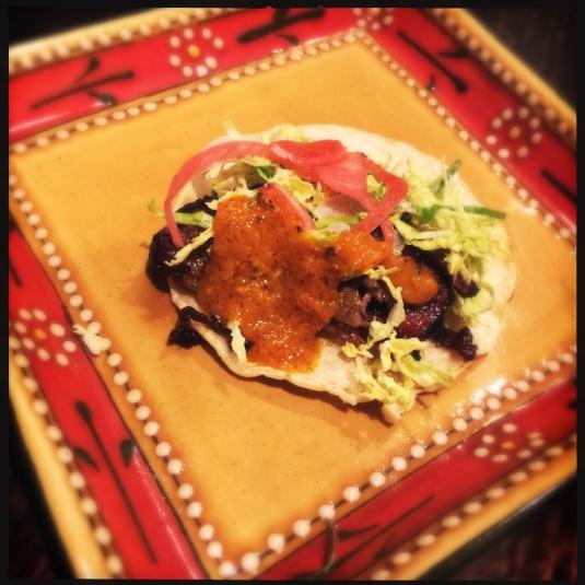 The taco