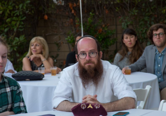 Even Rabbi Dovid is hungry