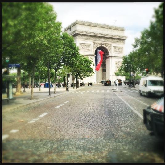 Arc de Triomphe, Bastille Day