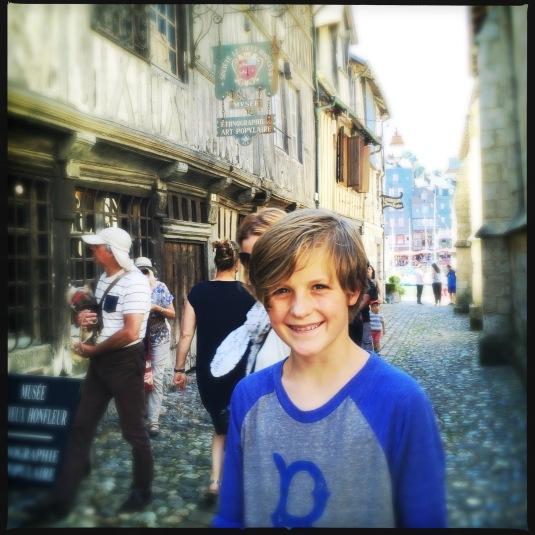Flynn in Honfleur