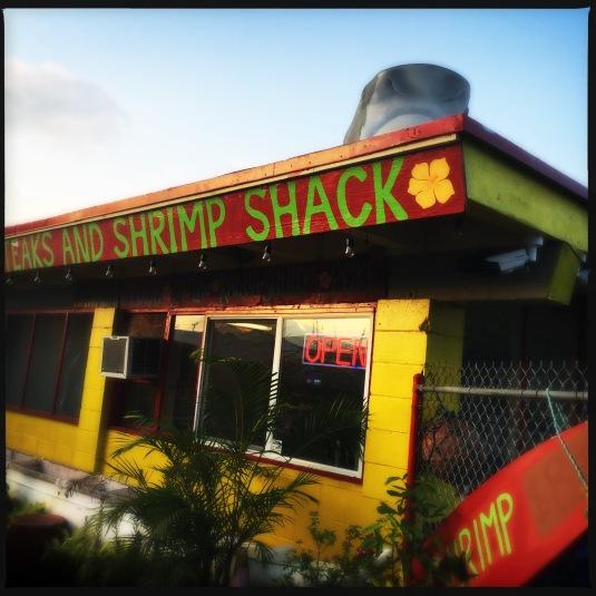 Ono Steak and Shrimp