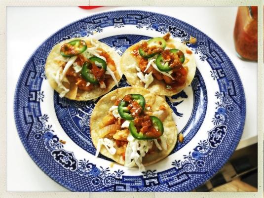 Veracruz-style fish tacos