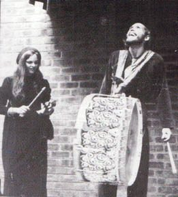 Aunt Deb and Uncle Ern performing at the Cannery, San Francisco, 1968