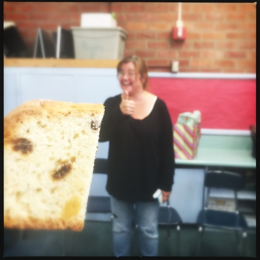 Katy attempting to distance herself from her soda bread